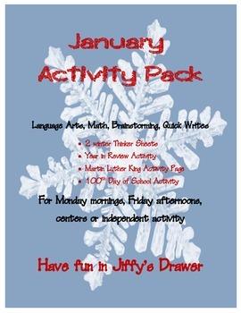 January Activity Packet