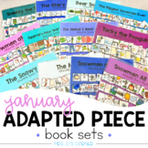 January Adapted Piece Book Sets [ 12 book sets included! ]