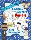 January Addition Math Centers Bundle Sums to 10
