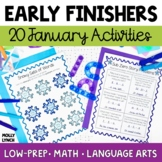 Early Finishers - January