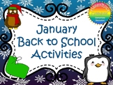 January Back to School Activities