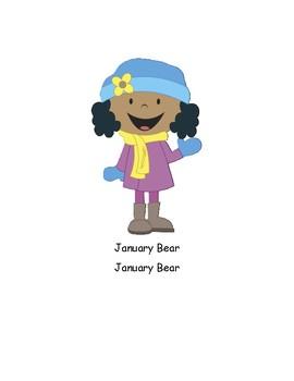 January Bear Song/Take Home/Teaching Card