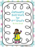 January Bell Work for Second Grade