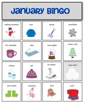 January Bingo