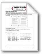 January Birthdays Bulletin Board