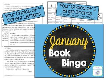 January Book Bingo