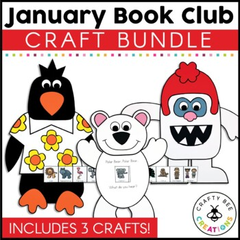 January Book Club {Yeti, Tacky the Penguin, & Polar Bear Polar Bear}