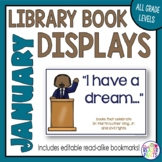 Book Displays: January & Martin Luther King Jr. Day