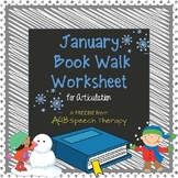 January Book Walk Worksheet