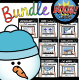 January Boom Card™ BUNDLE - kindergarten math - phonics -