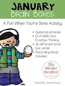 January Brain Boxes