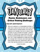 January Brain Teasers and Critical Thinking Challenges- En