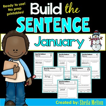 January Build the Sentence