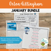 Literacy Centers: January | Multisensory Activities Fictio