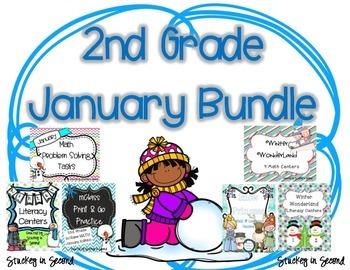 January Bundle {Math and Literacy}