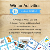 Winter Activities Bundle