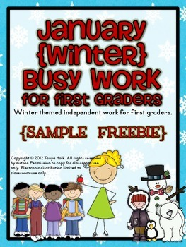 January Busy Work {FREEBIE}