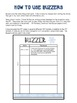 January Buzzer Packet (Bell Work-Journal) Common Core Writ