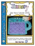 January Calendar Craft and MORE