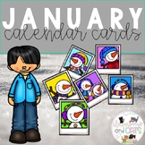 All Year Long Calendar Cards - January