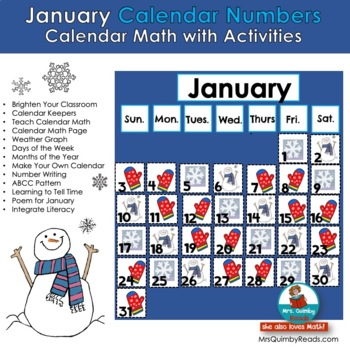 January Calendar Keepers and Activities