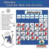 Calendar Keepers for January | Calendar Math and Activities