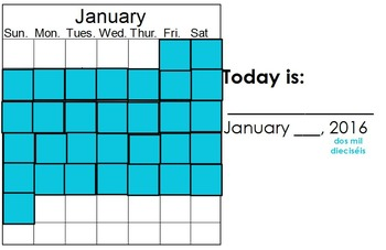 January Calendar Math