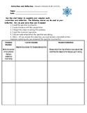 January Calendar Math Corrections and Reflection