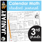 January Calendar Math Student Journal