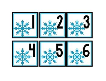 January Calendar Pieces