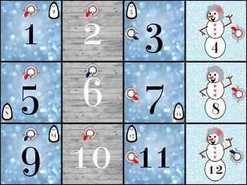 January Calendar (Set 2)