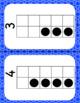 January Calendar Square Set With Ten Frames That Encourage Math Talk