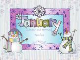 January Calendar and Morning Routine