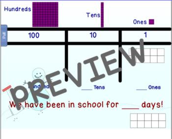 January Calendar for Smartboard