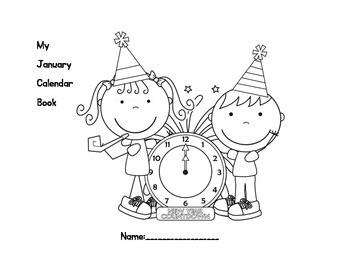 January Calendar/Weather/Review Book!
