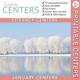 January Centers--2nd Grade ELA ONLY