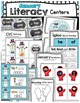 January Kindergarten BUNDLE Centers - NO PREP Worksheets - Newsletter