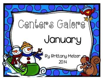 January Centers Galore