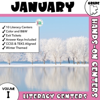 January Centers -- Kindergarten ELA ONLY