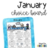 January Choice Board For Early Finishers