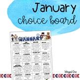 January Early Finishers Choice Board