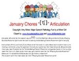 January Chores CH Freebie