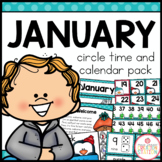 JANUARY MORNING MEETING CALENDAR AND CIRCLE TIME RESOURCES