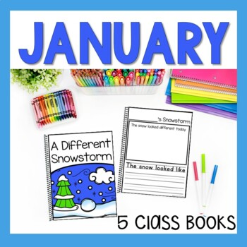 January Class Books - 5 January Writing Activities