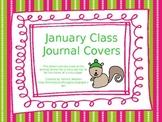 January Class Journal Covers *FREEBIE*