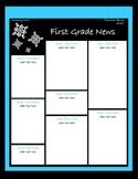 January Classroom Newsletter Template