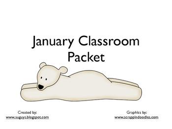 January Classroom Packet