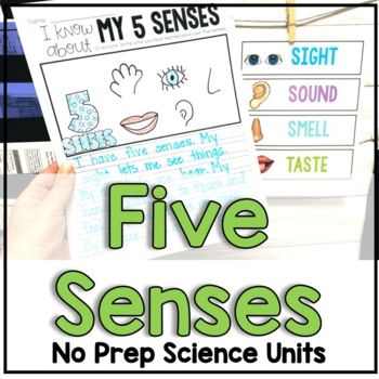 """January """"Click-and-Print"""" Science Bundle"""