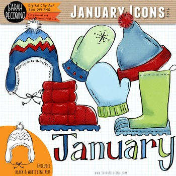 January Clip Art {First Edition}