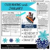 January Close Reading